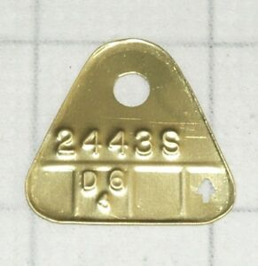 1956 2443s Dodge V8 D500 Carter Wcfb Brass Carburetor Tag Date Of Your Choice