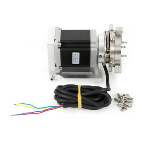 Cnc Router Rotational Rotary Axis A axis 4th axis 50mm 3 jaw Chuck Tailstock