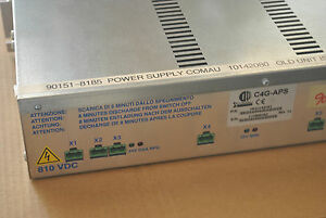 New Comau Robot Power Supply Control C4g aps Cr10142081