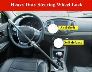 Anti theft Security Rotary Steering Wheel Lock Top Mount For Suv Car Great U8