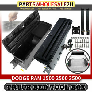 2pcs Storage Truck Bed Tool Box 30 71 For Dodge Ram 1500 2500 Rear Left Right