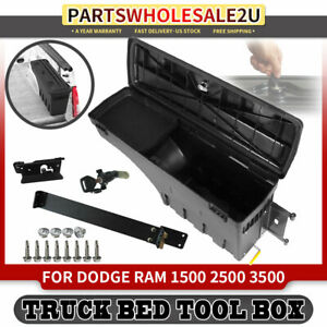 Rear Right Rh Truck Bed Storage Tool Box 30 71 For Dodge Ram 2500 1500 Pickup