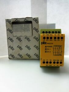 New Pilz Pnoz X4 24vdc 3n o 1n c Safety Relay 24 Vdc 2 5w Nib