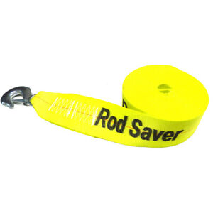 Rod Saver Heavy duty Winch Strap Replacement Yellow 3 X 25 39