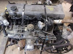 Isuzu Npr 4 8l Turbo Diesel Engine Motor Low Miles Free Shipping