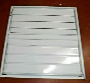 36 Whole House Fan Economy Ceiling Truss Shutter 35 3 4 X 34 Openingrequired