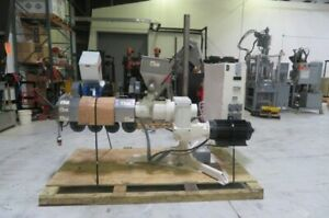 Davis Standard Hpe 150a Used Adjustable Extruder 1 5in 15hp Yr 2007 8579