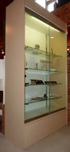 Commercial Glass Sliding Door Showcase Local Pickup Only