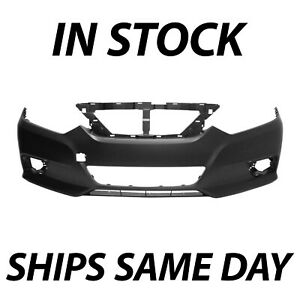 New Primered Front Bumper Cover Fascia Replacement For 2016 2018 Nissan Altima