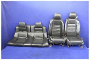 2011 2014 Ford Mustang Premium Leather Front Rear Coupe Seats Hot Rod Restomod