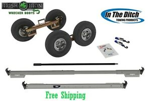 Tow Dolly Itd2790 p Sealed Hub Wrecker Rollback Tow Truck