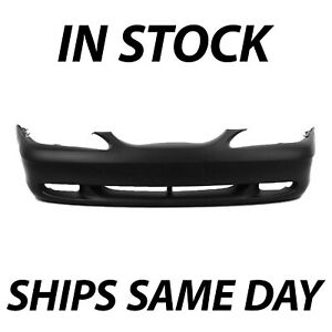 New Primered Front Bumper Cover Fascia For 1994 1998 Ford Mustang Gt 94 9879