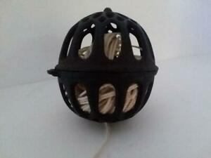 Antique Cast Iron Hanging Ball String Twine Holder Dispenser General Store