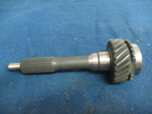 V8 T5 5 Speed Transmission Gm 26 Spline Front Input Shaft Non Wc 24 Tooth New