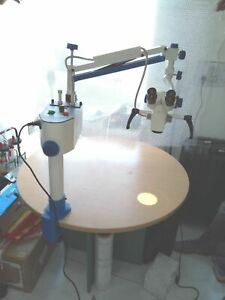 New 3 Step Led Portable Operating Microscope Ophthalmic Surgical Microscope