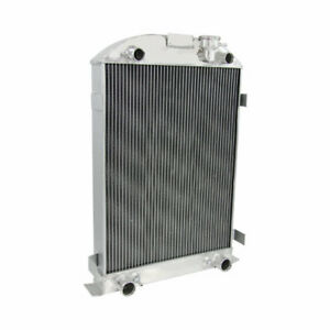 4 Row Aluminum Radiator For Ford Model A Series Flathead Engine V8 1935 1936