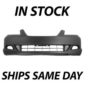New Primered Front Bumper Cover For 2005 2007 Honda Odyssey Touring W Park