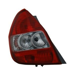 For Honda Fit 2007 2008 Tyc 11 6210 01 Driver Side Replacement Tail Light
