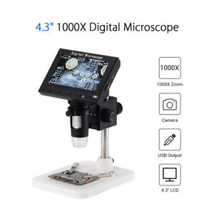 8 led Adjustable Usb 1000x Digital Microscope Endoscope Camera For Pcb Repairing