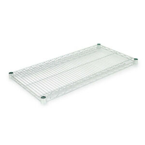 Alera Industrial Wire Shelving Extra Wire Shelves 36w X 18d Silver 2 Shelves