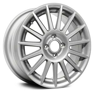 For Ford Focus 02 11 17x7 15 Spoke Silver Alloy Factory Wheel Remanufactured