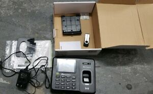 Acroprint Biotouch Automated Biometric Time Recorder 6 X 5 X 1 1 2