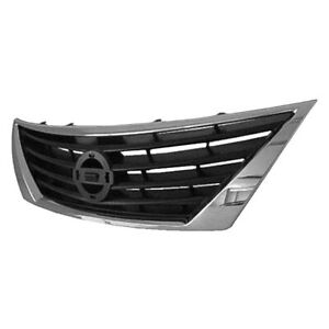 For Nissan Versa 2012 2014 Replace Ni1200247v Grille