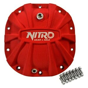 For Ford F 150 76 15 Nitro Gear Axle Front Rear X treme Differential Cover
