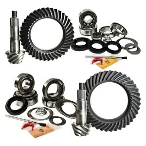 For Toyota Tundra 07 19 Front Rear Differential Ring Pinion Complete Kit