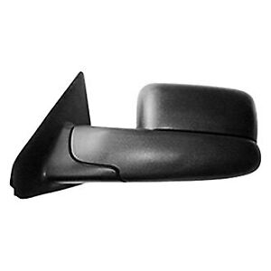 For Dodge Ram 3500 02 10 Towing Mirror Ch1320227 Driver Side Manual Towing