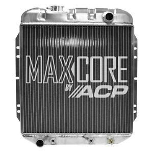 For Ford Mustang 1965 1966 Acp Fm er202 Maxcore Aluminum Engine Coolant Radiator