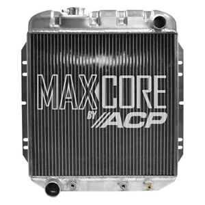 For Ford Mustang 1965 1966 Acp Fm er309 Maxcore Aluminum Engine Coolant Radiator