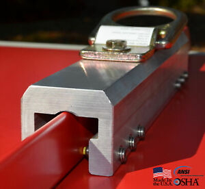 Standing Seam Roof Anchor Clamp Ssra1 Fall Protection Anchor