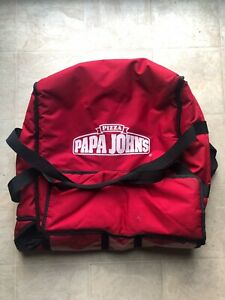 4 Papa Johns Pizza Insulated Delivery Bags