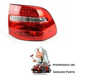 Genuine Porsche Cayenne Tail Light rear Lamp W bulb Holder 2008 2010 Right