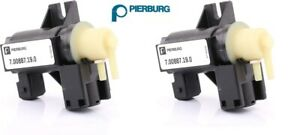 For Bmw F07 F10 F12 F13 Pair Left Right Turbo Boost Solenoid Valve Pierburg
