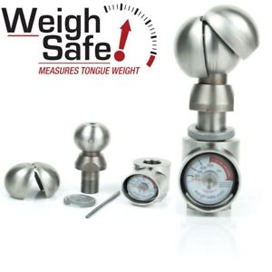 Wsun 1 Weigh Safe 2 2 5 16 Hitch Tow Ball With Built In Scale Universal Ball