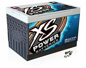 Xs Power D3400r 12v Battery Bci Group 34r Agm Max Amps 3 300a Ca 1000 Ah 65