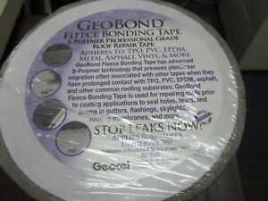 Roof Bonding Tape By Geobond For Trailer building 6 X 50 Gray 98046