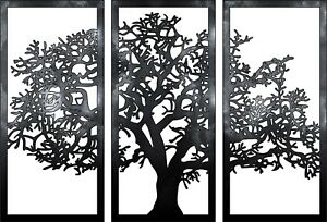 Dxf cdr Of Plasma Laser And Router Tree Panel Art