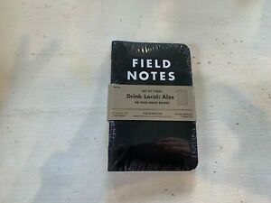 Sealed Field Notes Ales Drink Local Edition Fall 2013 3 pack Notebook Fnc 20a