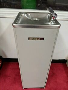Hasley Taylor Drinking Fountain Tower With Cooler