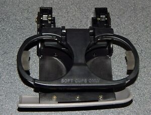 2001 2004 Toyota Sequoia Dual Dash Mounted Cup Drink Holder Middle Pull Out 2002