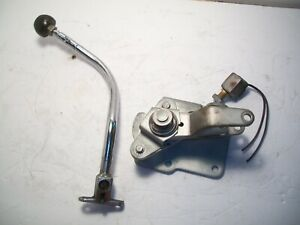62 63 Ford Galaxie T 10 4 Speed Shifter With Rare T Handle With Knob Fomoco