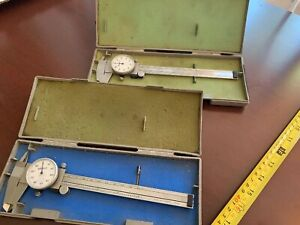 Mitutoyo Dial Gauge Caliper No 505 637 50 6 With Case