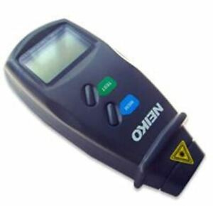 Digital Non contact Laser Optical Photo Sensor Rpm Speed Tachometer Meter