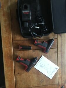 Snap On Ct561 3 8 Micro Cordless Impact Wrench X2 Nut Runner 3 Battery