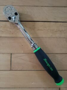 New Snap On Sh80a Green 1 2 Dual 80 Soft Grip Handle Ratchet Priority Shippin
