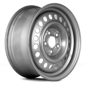 For Chevy Cavalier 92 05 14x6 20 Hole Silver Steel Factory Wheel Remanufactured