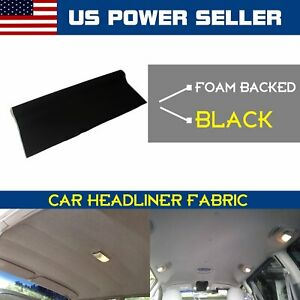 Car Vehicle Headliner Fabric Upholstery Roof Ceiling Sagging Replacement 60 X48